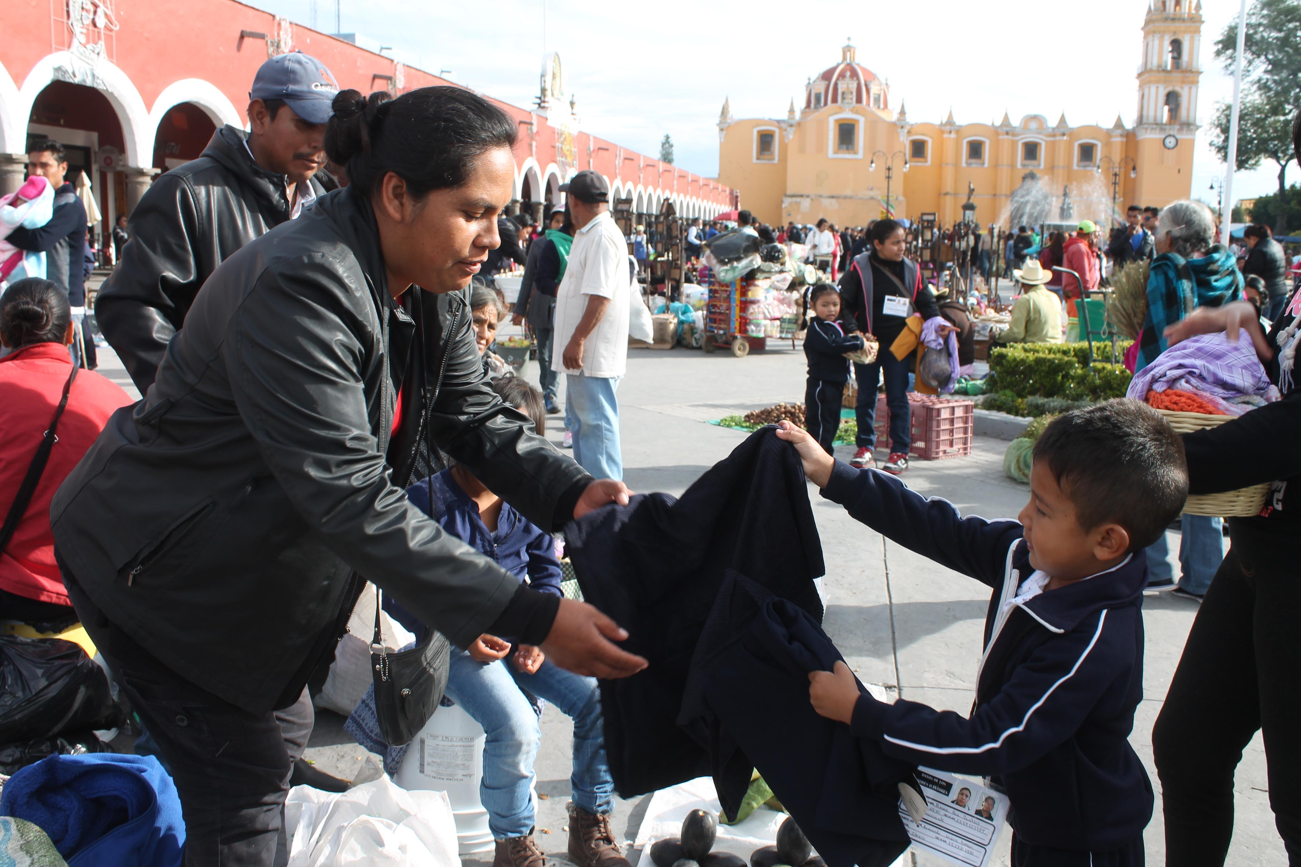 El trueque de San Pedro Cholula se realiza el 8 de septiembre.